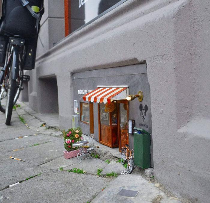 Мышиное кафе в Мальмё.