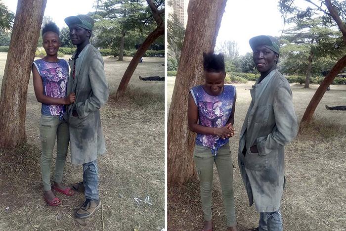 Фотограф нашел парочку бездомных из Найроби. Фото: Muchiri Frames.