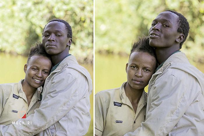 Сэмми со своей девушкой живут в парке в Найроби. Фото: Muchiri Frames.