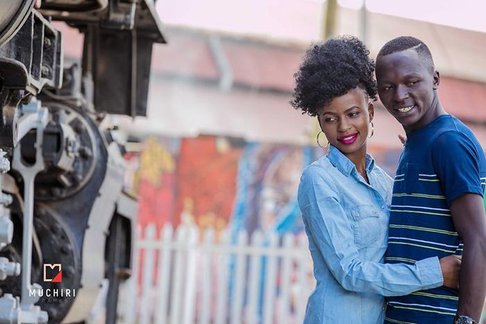 Сэмми из Найроби со своей подругой. Фото: Muchiri Frames.