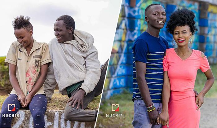 Преображение бездомных из Кении.