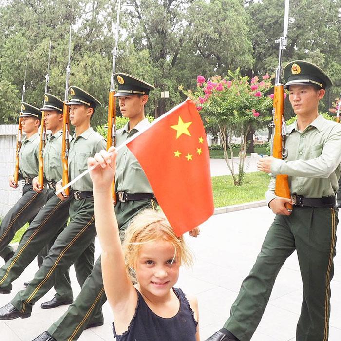 В Китае. Instagram mumpacktravel.