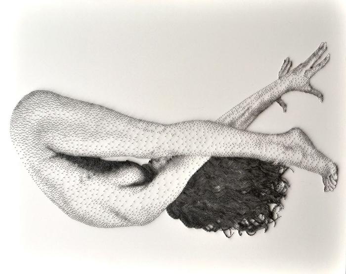 Шарлотта. Этюд №2.  Автор: Marcus Levine.
