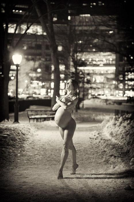 Во время беременности. Фото: Jordan Matter.