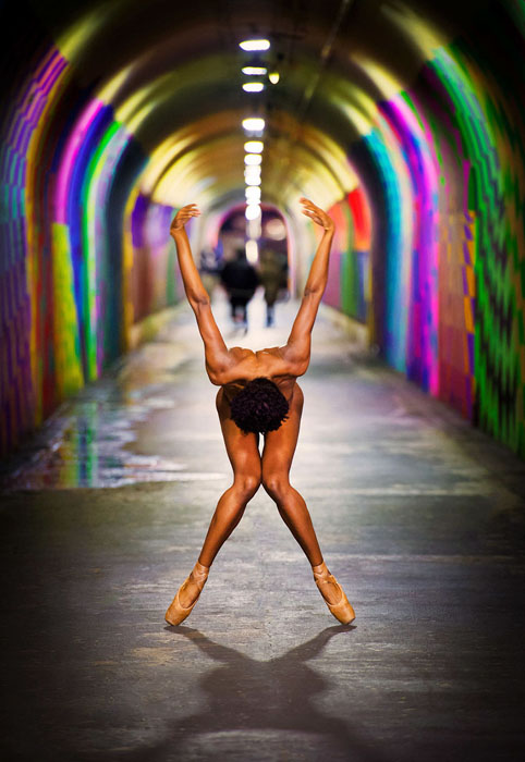 Обнаженные танцоры. Фото: Jordan Matter.