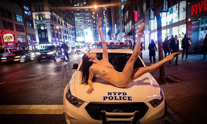Нью-Йорк. Фото: Jordan Matter.