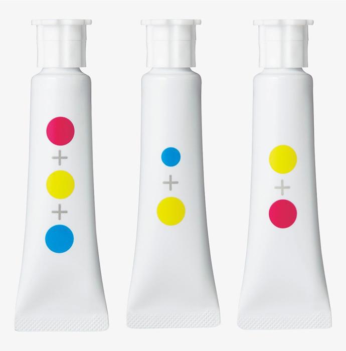 Каждый сложный цвет состоит из смеси простых базовых цветов.