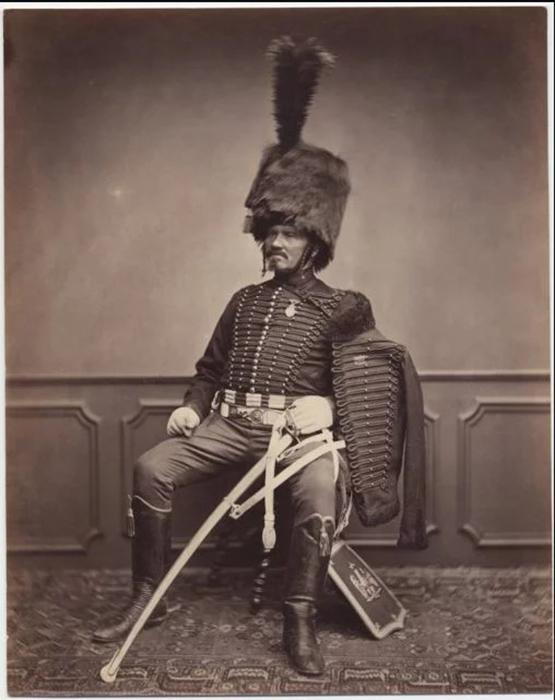 Месье Море, второй полк 1814-1815гг.  Фото: Brown University Library.