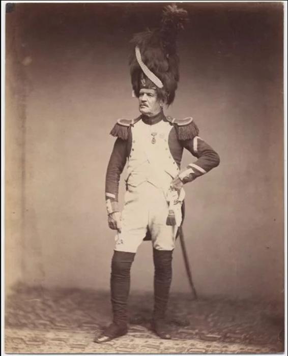 Сержант Тария, Гренадир, 1809-1815 гг. Фото: Brown University Library.