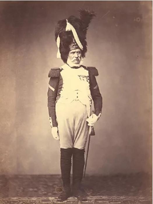 Гренадир Бург 24 полка 1815 г. Фото: Brown University Library.