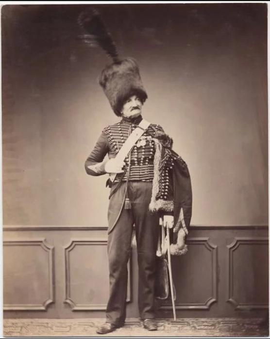 Месье Мейр, седьмой гусарский полк, 1809-1815. Фото: Brown University Library.