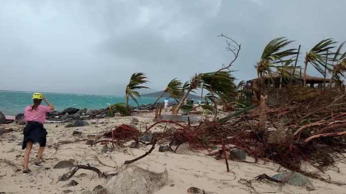 6 сентября 2017 года ураган Ирма прошелся по острову.