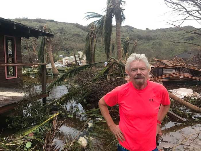Ричард Бэнсон был на острове в день, когда произошла катастрофа.