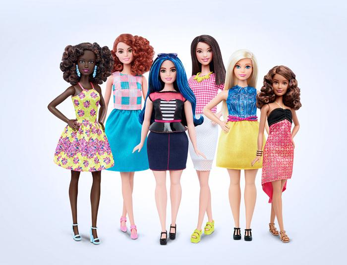 В новых куклах Барби девочки наконец-то смогут узнать и себя тоже.