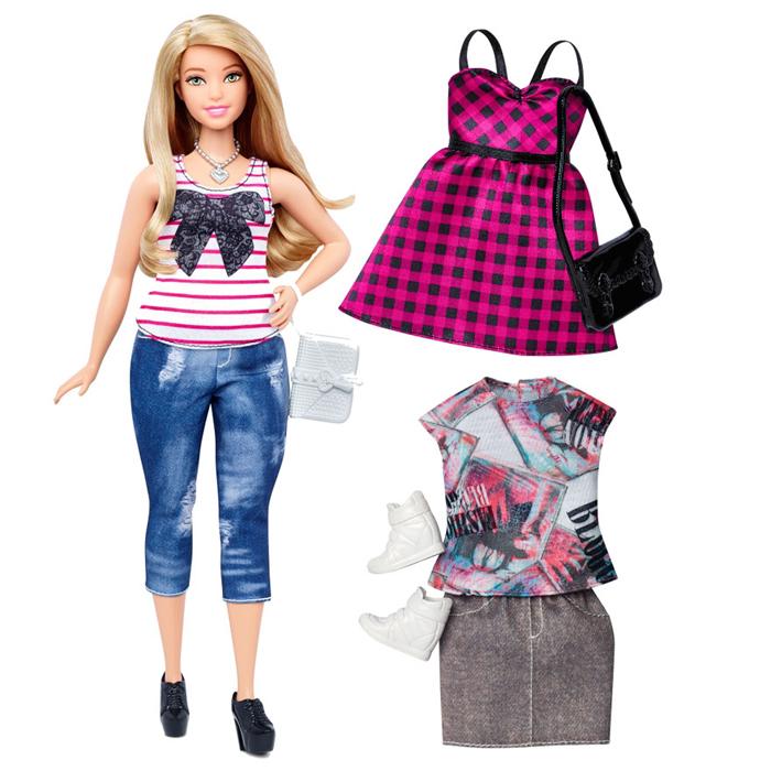 Теперь у Барби будет проблема с одеждой. Совсем как у обычных людей.