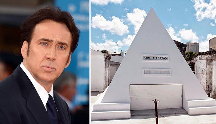 Пирамида Николаса Кейджа.