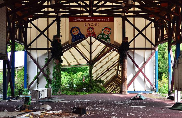 В парке аттракционов с 2004 года почти ничего не осталось. Фото: Michael John Grist.