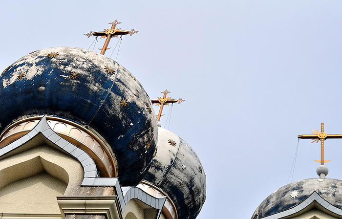 Оставшаяся церковь. Фото: Michael John Grist.