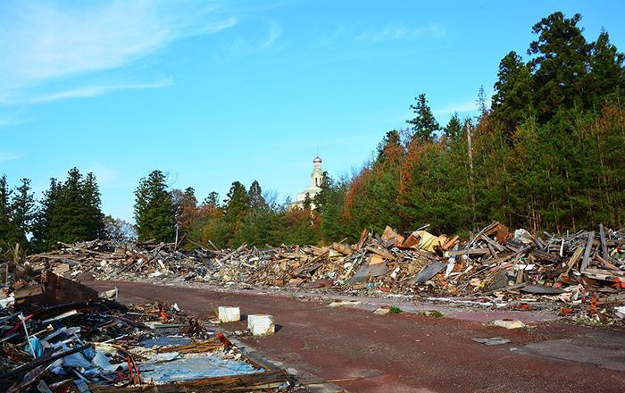Парк полностью разрушен. Фото: Abandoned Kansai.