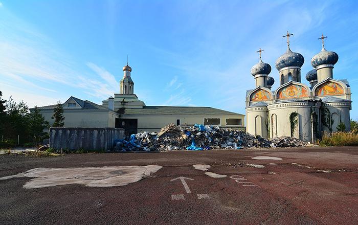 Заброшенный тематический парк в Японии. Фото: Abandoned Kansai.