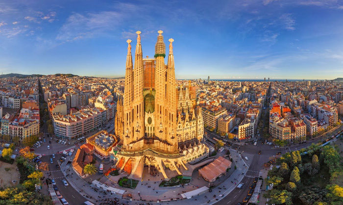Барселона - одно из самых популярных мест в Европе.