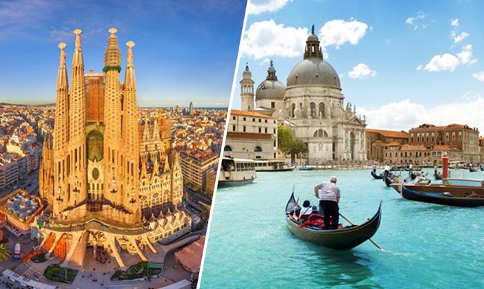 Южные города Европы недовольны большим количеством туристов.