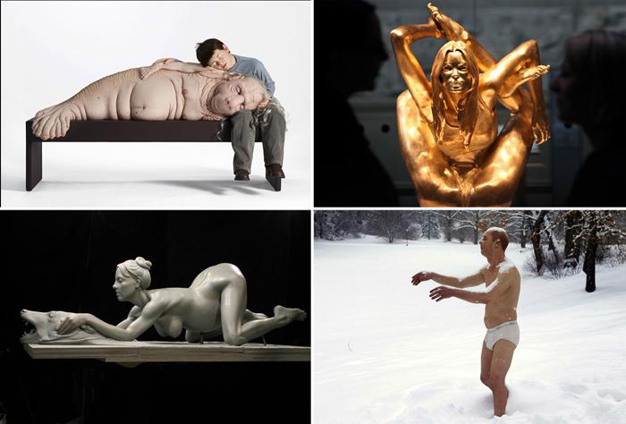 Скульптуры, вызывающие споры в обществе.