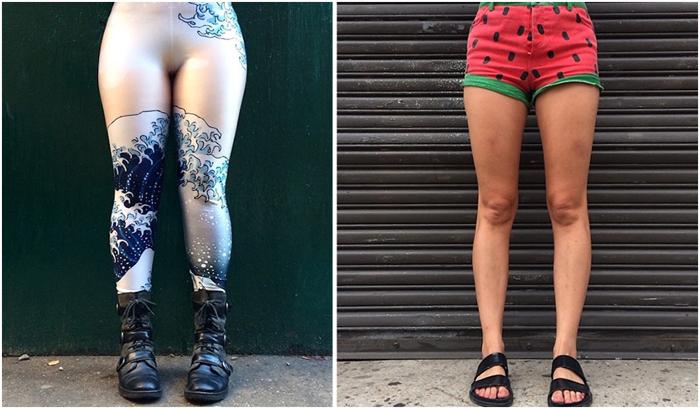 Ножки Нью-Йорка. Проект Стейси Бейкер.