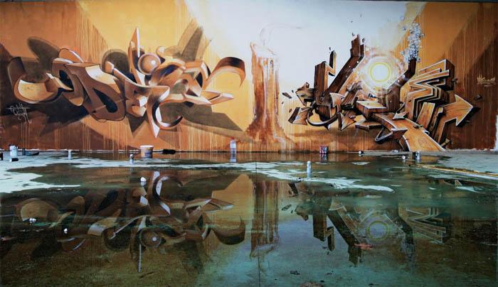 Odeith создает псевдо трехмерные изображения.