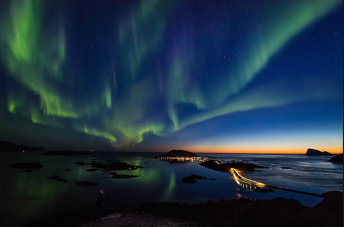 Норвежский берег.