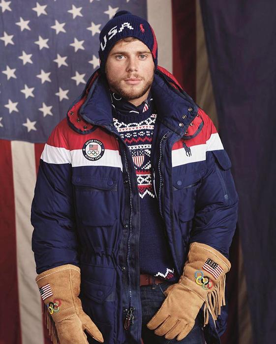 Олимпийский спортсмен Гас Кенворти.