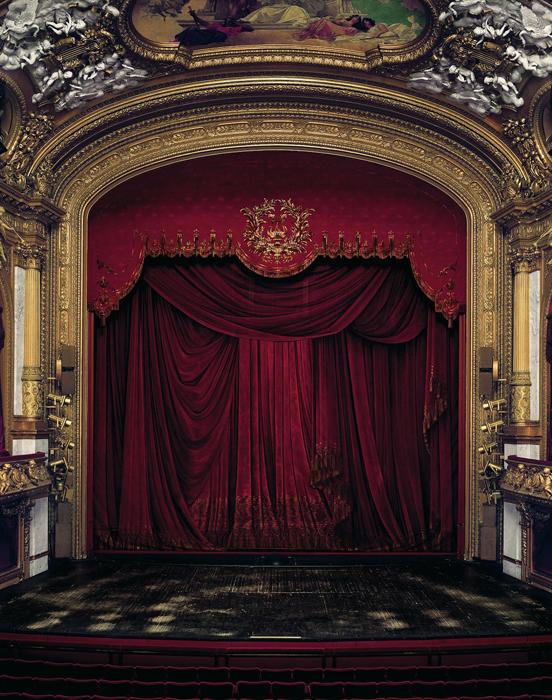 Сцена Королевской Оперы Швеции, Стокгольм, Швеция.