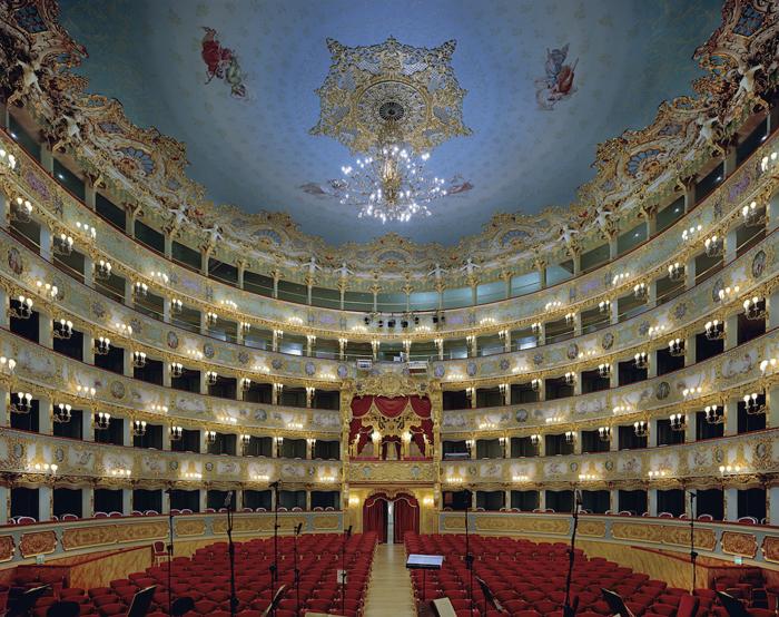 La Fenice, Венеция, Италия.