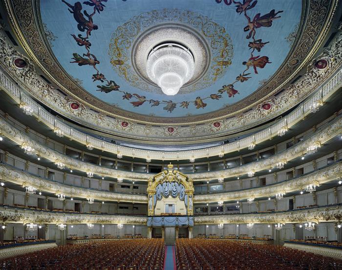 Мариинский театр, Санкт-Петербург, Россия.