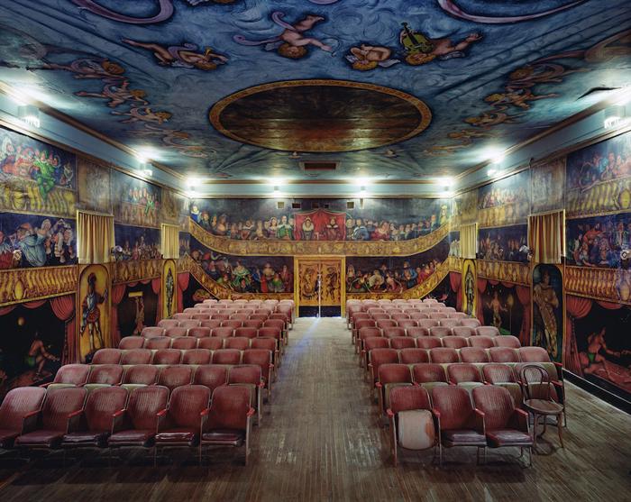 Оперный дом Amargosa, Калифорния, США.