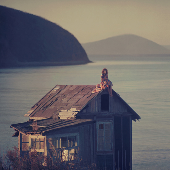 На крыше. Автор фото: Олег Оприско.