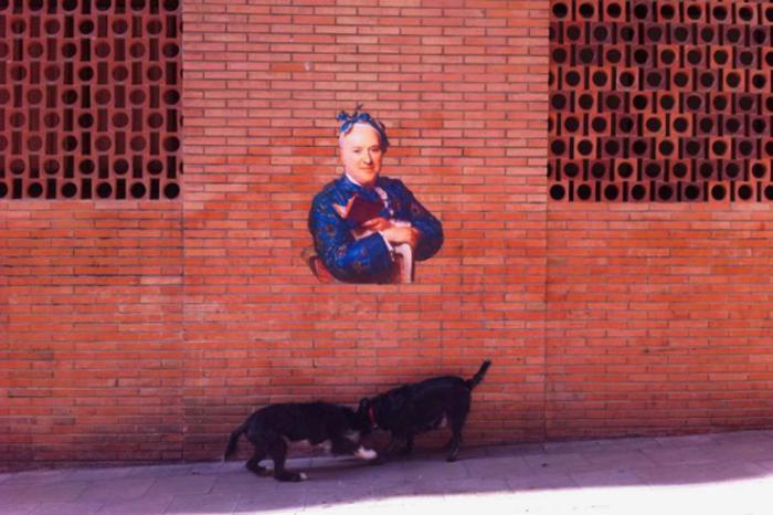 Барселона. Портрет из Национального музея искусств Каталонии.