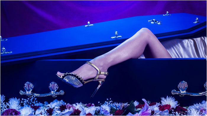 52% опрошенных женщин пожелали выглядеть в гробу стильно.