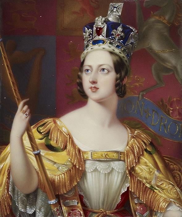 Коронационный портрет кисти Джорджа Хейтера.