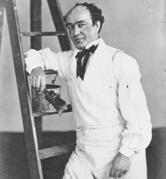 Эдвард Оксфорд, сфотографирован Генри Герингом. 1856