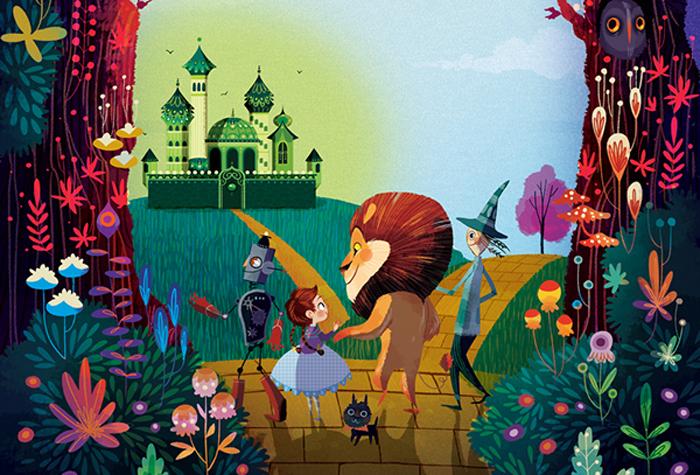 Картинки по книге волшебник изумрудного города