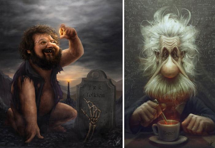 Забавные иллюстрации Панчо Васкеса.