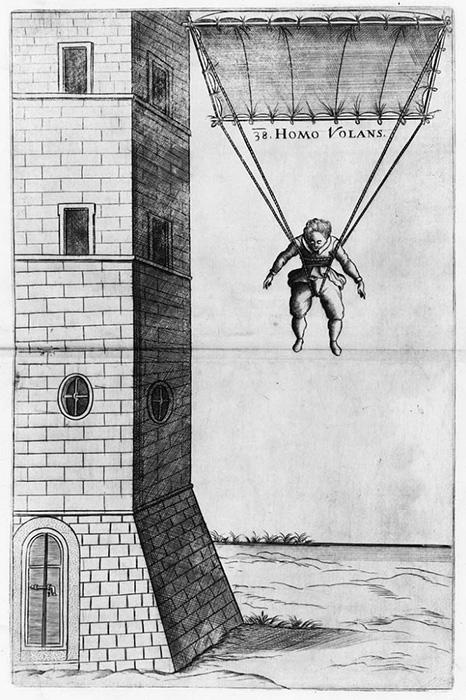 Homo Volans - прыжок Фаусто Веранцио.