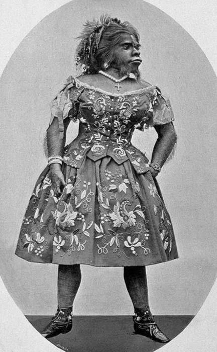 Хулия Пастрана, из книги 1900 года.
