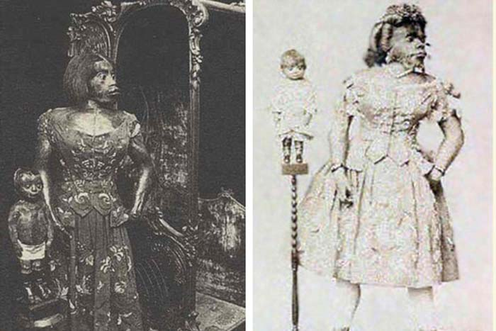 Мумифицированное тело Хулии выставляли вместе с мумией ее сына.