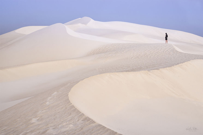 Песчаные дюны Ланцелин, Австралия. Автор фото: William Patino.