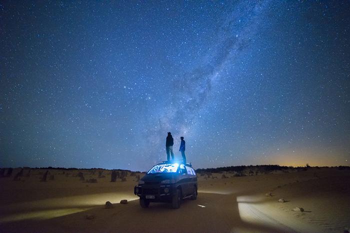 Пустыня Пиннаклс, западная Австралия. Автор фото: William Patino.