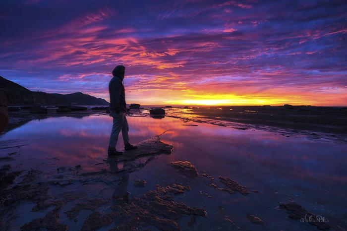 Вуллонгонг, Австралия. Автопортрет. Автор фото: William Patino.