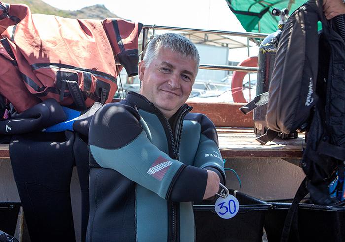 Дмитрий Павленко начал заниматься дайвингом всего несколько лет назад.