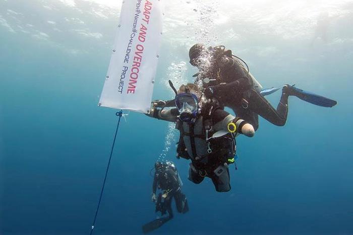 Дмитрий Павленко решил погрузиться в открытом море, для чего выбрал Красное море.